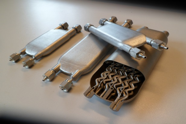 3d printing of metal micro flow reactors for dsm melotte